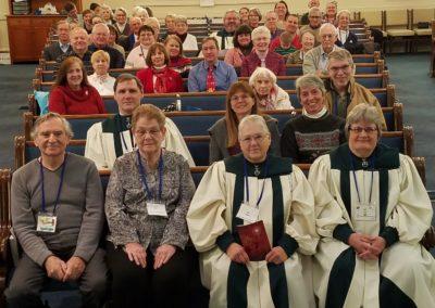 Church Congregation 2017