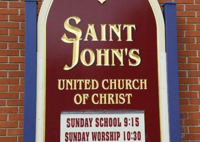 Church Outdoor Sign