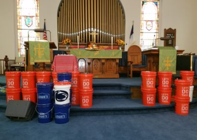 Church World Service Cleaning Buckets