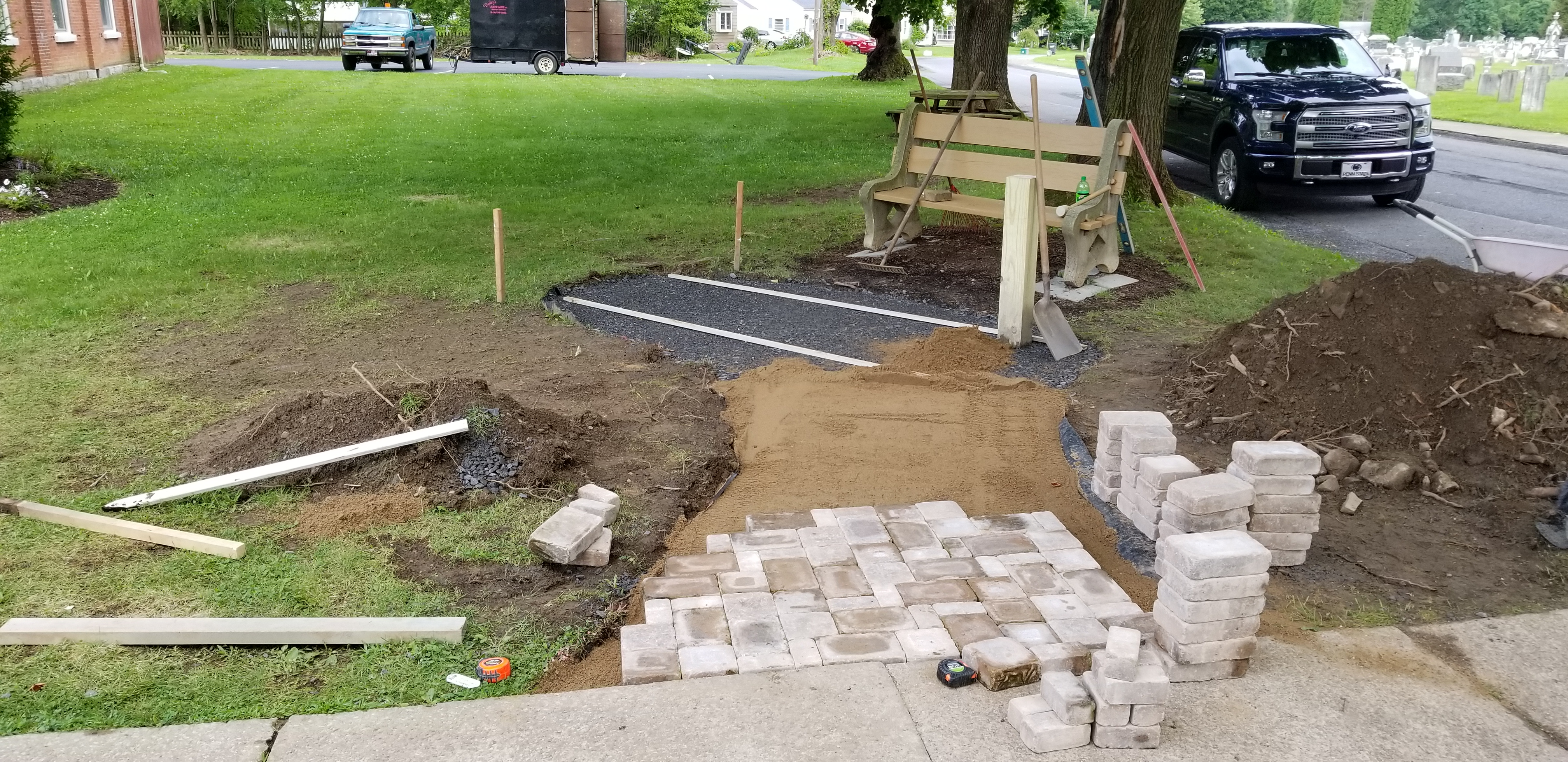 Foundation and block work
